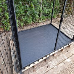 Chequer Plate Base for budget LPG cage cages 3mm thick