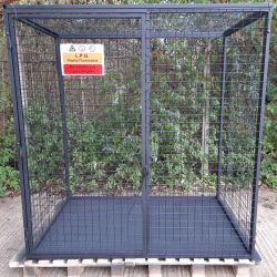 Chequer Plate Base for budget LPG cage cages