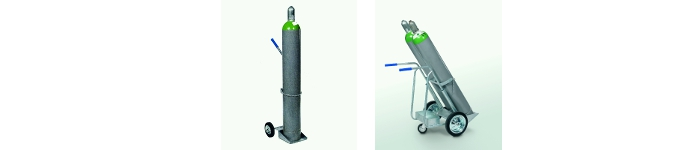 Picture of gas cylinder trolley