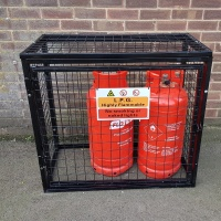 Gas Cylinder Cage GC801