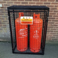 Gas Cylinder Cage GC802