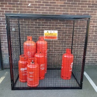 Gas Cylinder Cage GC805