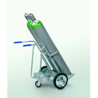Premium Twin Gas Cylinder Trolley