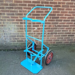 Twin Gas Cylinder Trolley