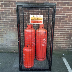 Gas Cylinder Cage GC803