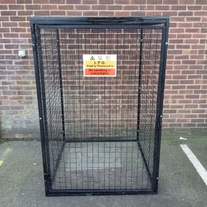 Gas Cylinder Cage Empty GC804