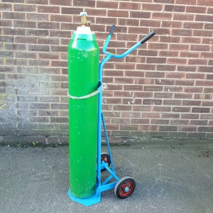 Gas Cylinder Trolley with Different Cylinder