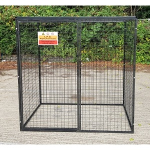 Gas Cylinder Cage GC805 with single opening door