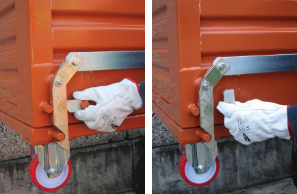 picture of safety locking system